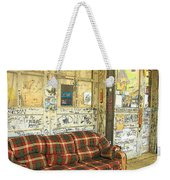 Front Porch - Ground Zero Blues Club Clarksdale Ms Weekender Tote Bag
