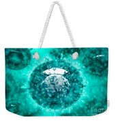 Group Of H5n1 Virus With Glassy View Weekender Tote Bag