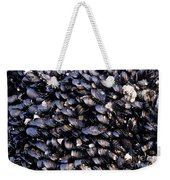 Group Of Mussels Close Up Weekender Tote Bag