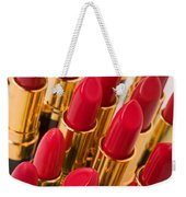 Group Of Red Lipsticks Weekender Tote Bag