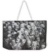 Group Of Thirty-five Heads Weekender Tote Bag