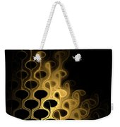 Grouped In Gold Weekender Tote Bag