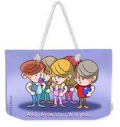 Grow Up Weekender Tote Bag