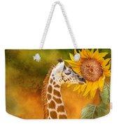 Growing Tall - Giraffe Weekender Tote Bag