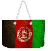 Grunge Afghanistan Flag Weekender Tote Bag