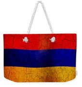 Grunge Armenia Flag  Weekender Tote Bag