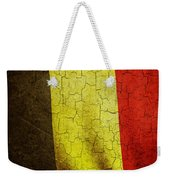 Grunge Belgium Flag Weekender Tote Bag