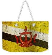 Grunge Brunei Flag Weekender Tote Bag