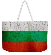 Grunge Bulgaria Flag Weekender Tote Bag