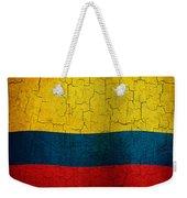 Grunge Colombia Flag Weekender Tote Bag