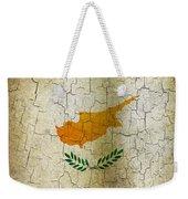 Grunge Cyprus Flag Weekender Tote Bag