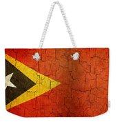 Grunge East Timor Flag Weekender Tote Bag
