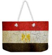 Grunge Egypt Flag Weekender Tote Bag