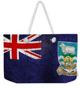 Grunge Falkland Islands Flag Weekender Tote Bag