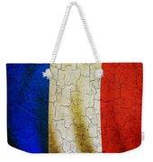 Grunge France Flag Weekender Tote Bag