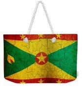 Grunge Grenada Flag Weekender Tote Bag