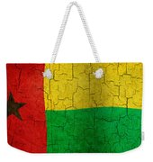 Grunge Guinea-bissau Flag Weekender Tote Bag