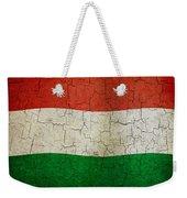 Grunge Hungary Flag Weekender Tote Bag