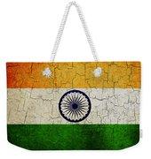 Grunge India Flag Weekender Tote Bag
