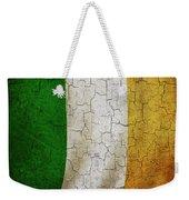 Grunge Ireland Flag Weekender Tote Bag