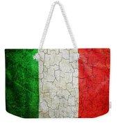 Grunge Italy Flag Weekender Tote Bag