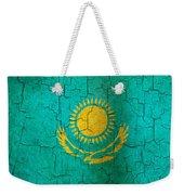 Grunge Kazakhstan Flag Weekender Tote Bag