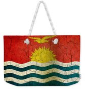 Grunge Kiribati Flag Weekender Tote Bag