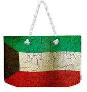 Grunge Kuwait Flag Weekender Tote Bag