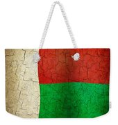 Grunge Madagascar Flag Weekender Tote Bag