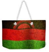 Grunge Malawi Flag Weekender Tote Bag