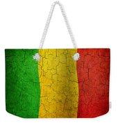 Grunge Mali Flag Weekender Tote Bag