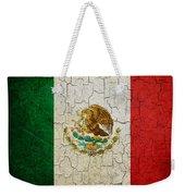 Grunge Mexico Flag Weekender Tote Bag