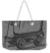 Grunge Mine Trolley Patent Weekender Tote Bag