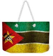Grunge Mozambique Flag Weekender Tote Bag