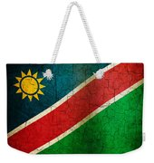Grunge Namibia Flag Weekender Tote Bag