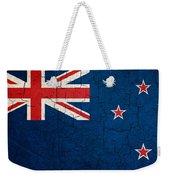 Grunge New Zealand Flag Weekender Tote Bag
