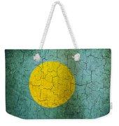 Grunge Palau Flag Weekender Tote Bag