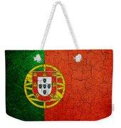 Grunge Portugal Flag Weekender Tote Bag