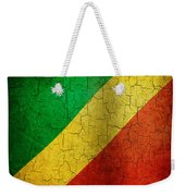 Grunge Republic Of The Congo Flag Weekender Tote Bag