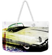 Grunge Retro Car Weekender Tote Bag