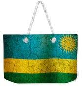 Grunge Rwanda Flag Weekender Tote Bag