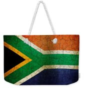 Grunge South Africa Flag Weekender Tote Bag