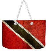 Grunge Trinidad And Tobago Flag Weekender Tote Bag