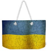 Grunge Ukraine Flag Weekender Tote Bag