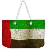 Grunge United Arab Emirates Flag Weekender Tote Bag