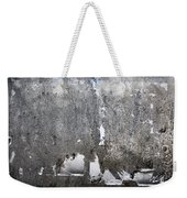 Grungy Concrete Wall Weekender Tote Bag
