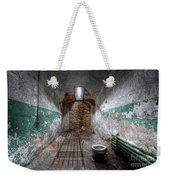 Grungy Prison Cell Weekender Tote Bag
