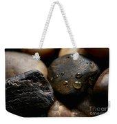 Rocks And Drops Weekender Tote Bag