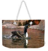 Guanay Cormorant Weekender Tote Bag