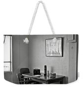 Guard Dining Area In Alcatraz Prison Weekender Tote Bag